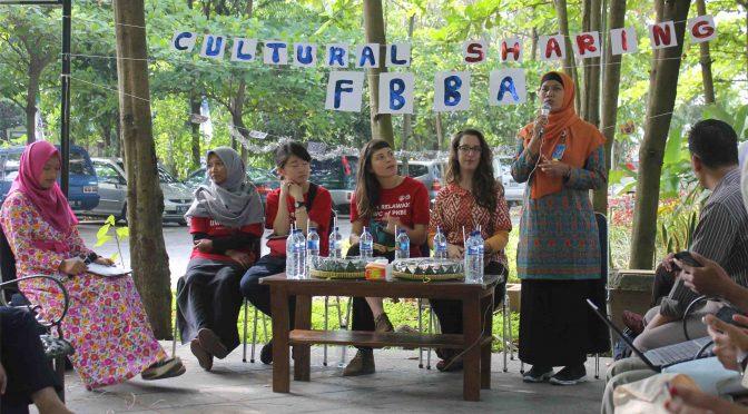 FBBA Unimus Gelar Cultural Sharing Bersama Peserta dari Negara Asing