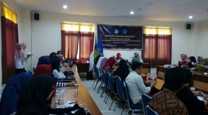 "Unimus-Balai Bahasa Jawa Tengah Helat Bengkel Sastra ""Penciptaan Cerita Pendek Indonesia"""