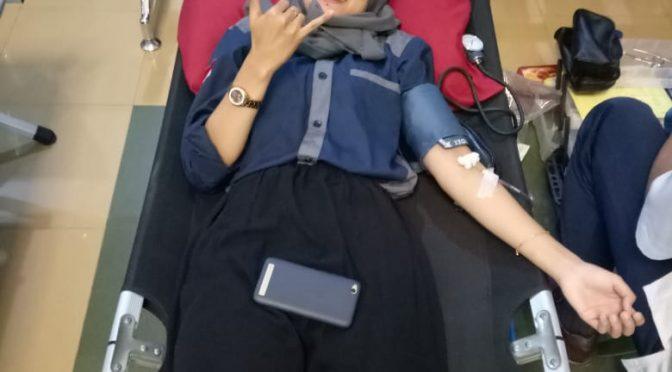 """""""Everyone can be a hero"""", Himaprosa adakan Donor Darah"""